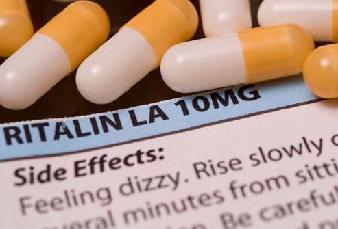 Ritalin bijwerkingen